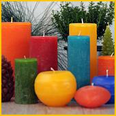 Dänische Kerzen.Utspann Home Handgearbeitete Durchgefärbte Kerzen Aus