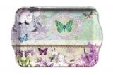 Schmetterling | Butterfly - Tablett passend zur Lunch Serviette Art.Nr. 13308320 von Ambiente